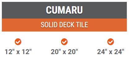 cumaru deck tiles best price miami florida