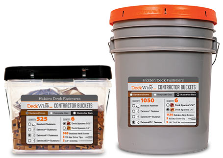 Ipe Clip® Contractor Buckets Available in 2
