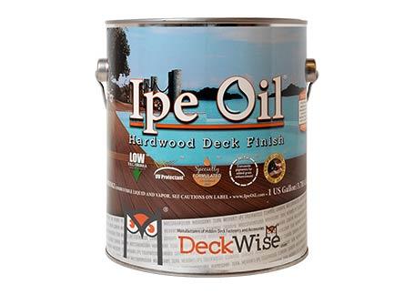 Ipe Oil® Hardwood Finish Hardwood Deck, Siding and Fence Finish