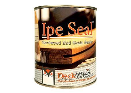 Ipe Seal® End Grain Seal 1 Qt. Hardwood Deck Board End Grain Wax
