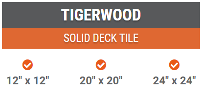 tigerwood deck tiles best price miami florida